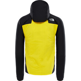 The North Face Summit L3 Ventrix Hybrid Hoodie Herr canary yellow/tnf black